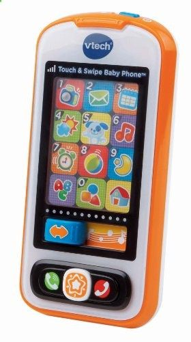 VTech Touch and Swipe Baby Phone. Check the website for more description about the product.