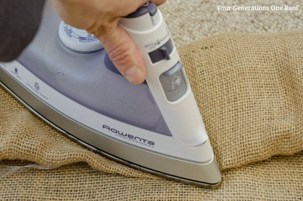 How to eliminate burlap curtain odor   Four Generations One RoofFour Generations One Roof