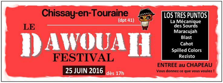 Le Dawouah Festival – Acte 2 – 25 juin 2016