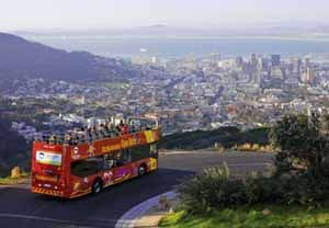 Hop On Hop Off City Bus Tour in Cape Town South Africa Image