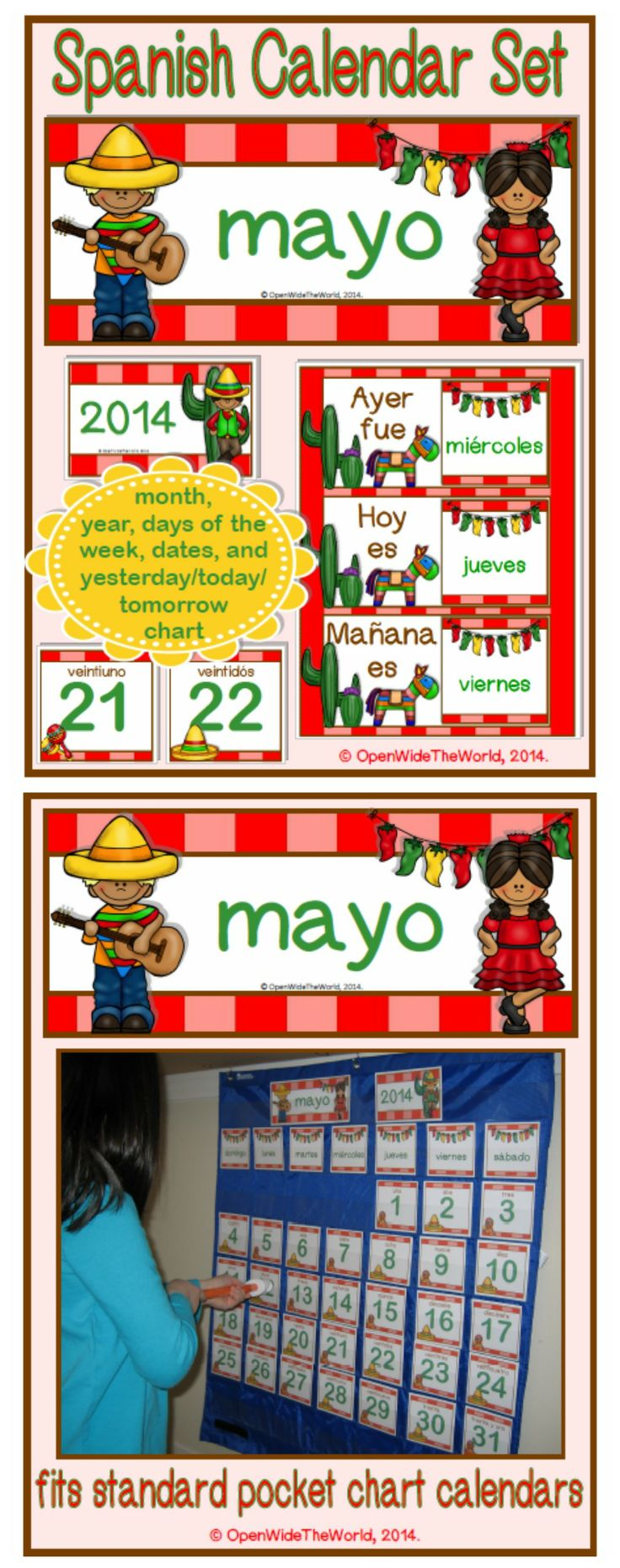 34 best Printable Spanish Class Activities images on Pinterest ...