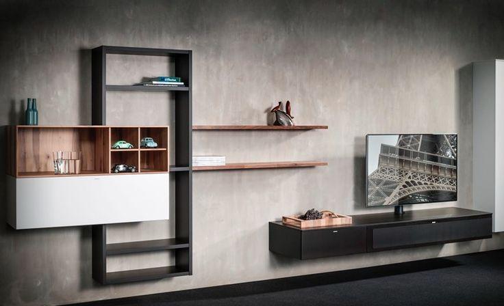 Design wandkast Interstar #Interstar #kast #wandkast #interieur #BakersZitmeubelen Kom naar de showroom om de mogelijkheden te bekijken