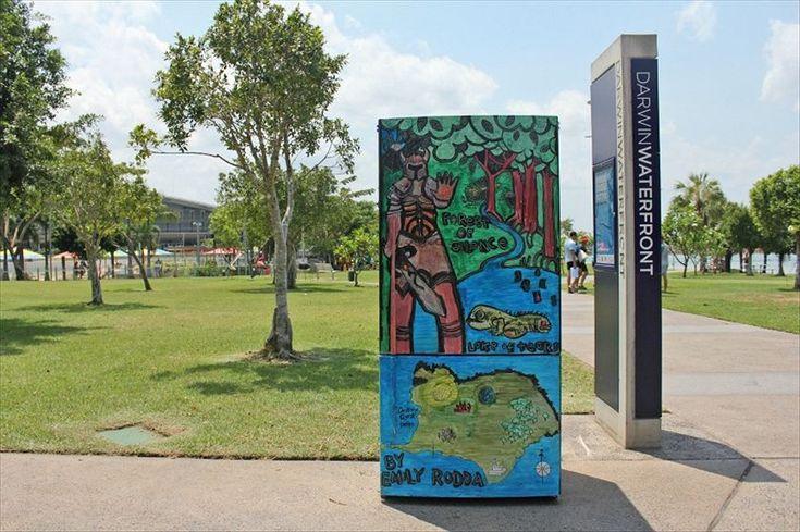 Fridge Art in Darwin