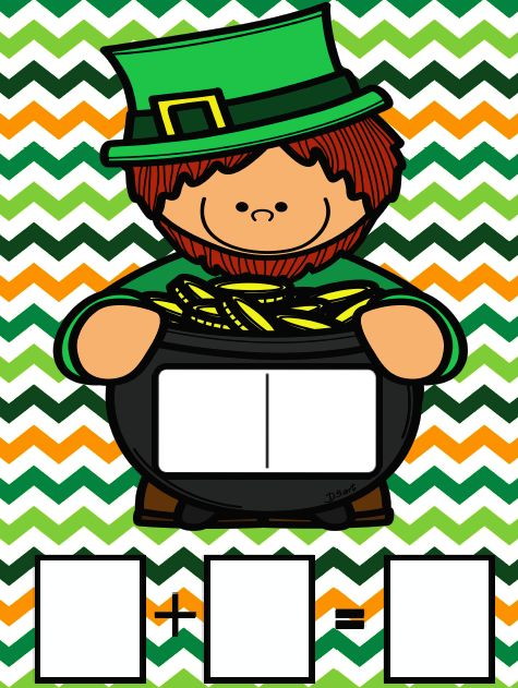St. Patrick's Day themed addition and subtraction practice. Multiple activities including dominos addition, practice mats, cut & paste activities. One digit addition and subtraction within 10 perfect for Pre-k to 1st grade.