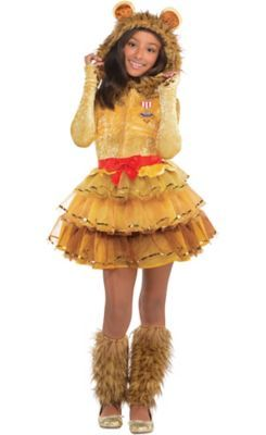 0c7ec7117 Girls Cowardly Lion Costume - Wizard of Oz | Party City | Wizard of ...
