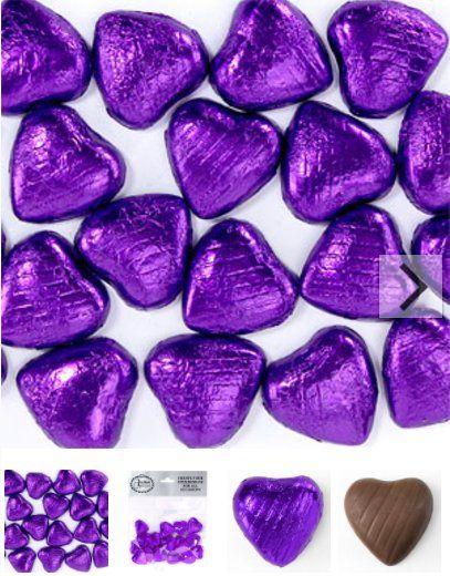 Chocolade hartjes paars,De leukste bedankjes & bedank snoep vindt u voordelig en snel bij J-style-deco.nl✓Afterpay|ideal✓Verzending v.a. 3,95✓Klanten geven J...