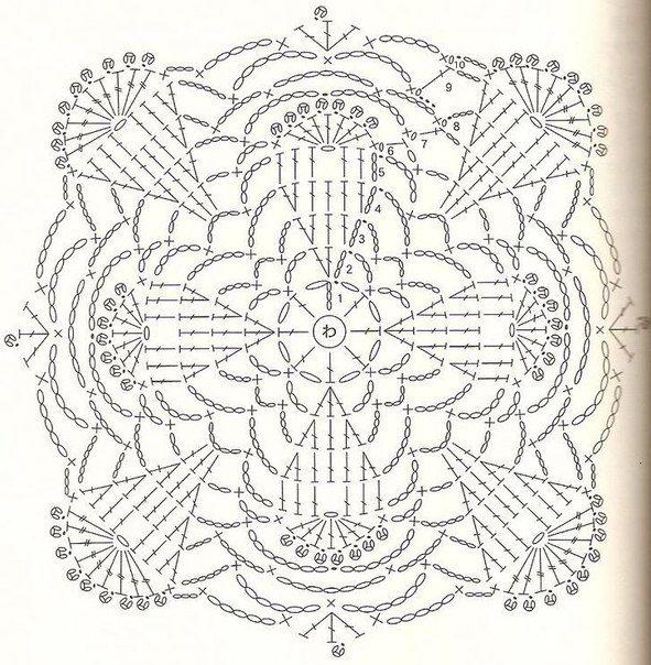 300 best crochet diagrams images on pinterest crochet patterns crochet motif diagram ccuart Gallery
