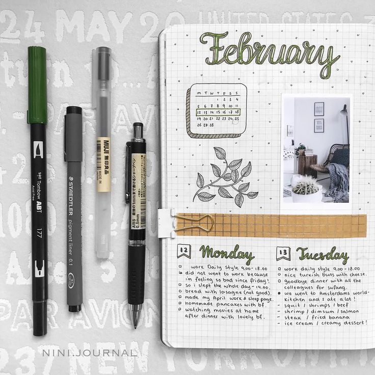 """Nini Bullet Journal en Instagram: """"I'm so excited because it's almost March !! Because i allready made all my pages for next month ~ ⠀⠀⠀⠀⠀⠀ ⠀⠀⠀⠀⠀⠀ ⠀⠀⠀⠀⠀⠀ ⠀⠀⠀⠀⠀⠀ ⠀⠀⠀⠀⠀⠀…"""""""