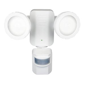 Motion Activated Solar Powered LED Security Light - White-PSO1W at The Home Depot: Security Lights, Motion Activities, Led Security, Power Led, Httplightingworldbaycom Lights, Solar Power, Activities Solar, Home Depot, Lightingworldbay Com Lights
