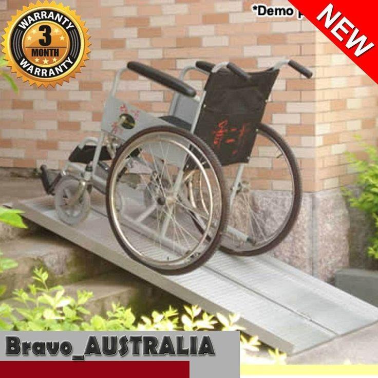 Aluminium Wheelchair Ramp 5ft Portable Folding Loading Ramps Mobility Aid