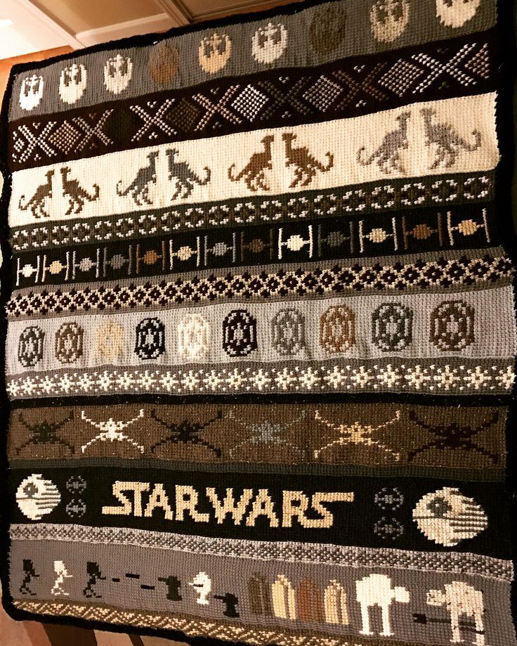 Star Wars crochet blanket