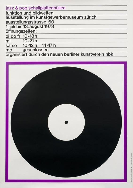 Jazz & Pop Schallplattenhullen (purple) by Bruggisser, Markus