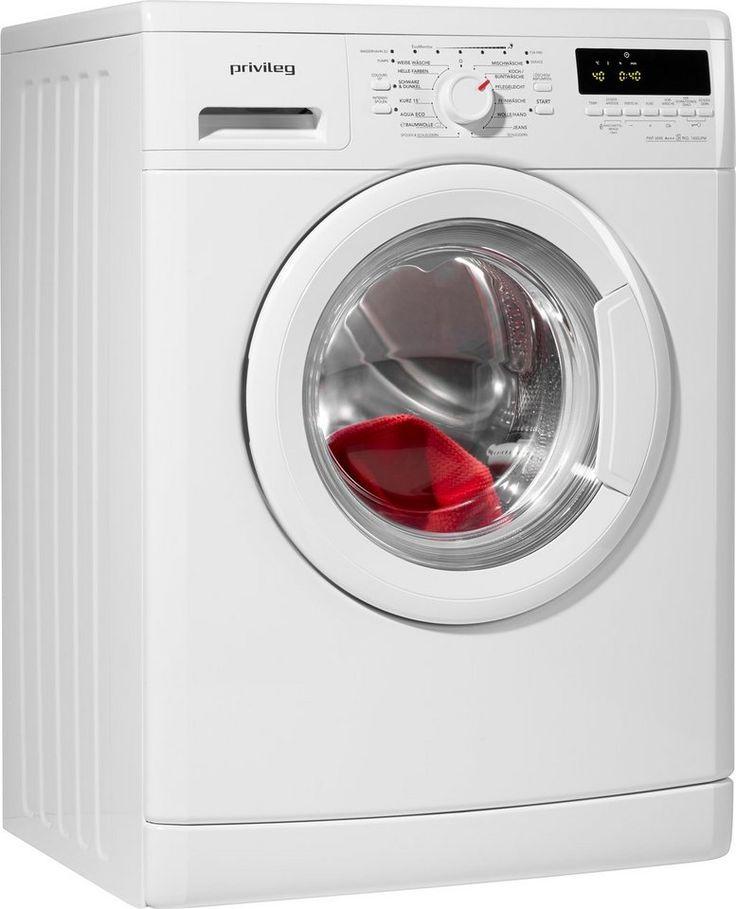 Privileg Waschmaschine PWF6848, A+++, 8 kg, 1400 U/Min