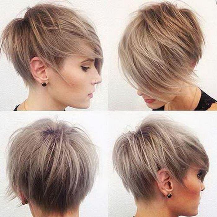 Frisuren zwischen kurz und lang