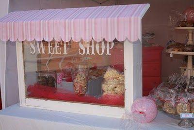 Bake sale display idea