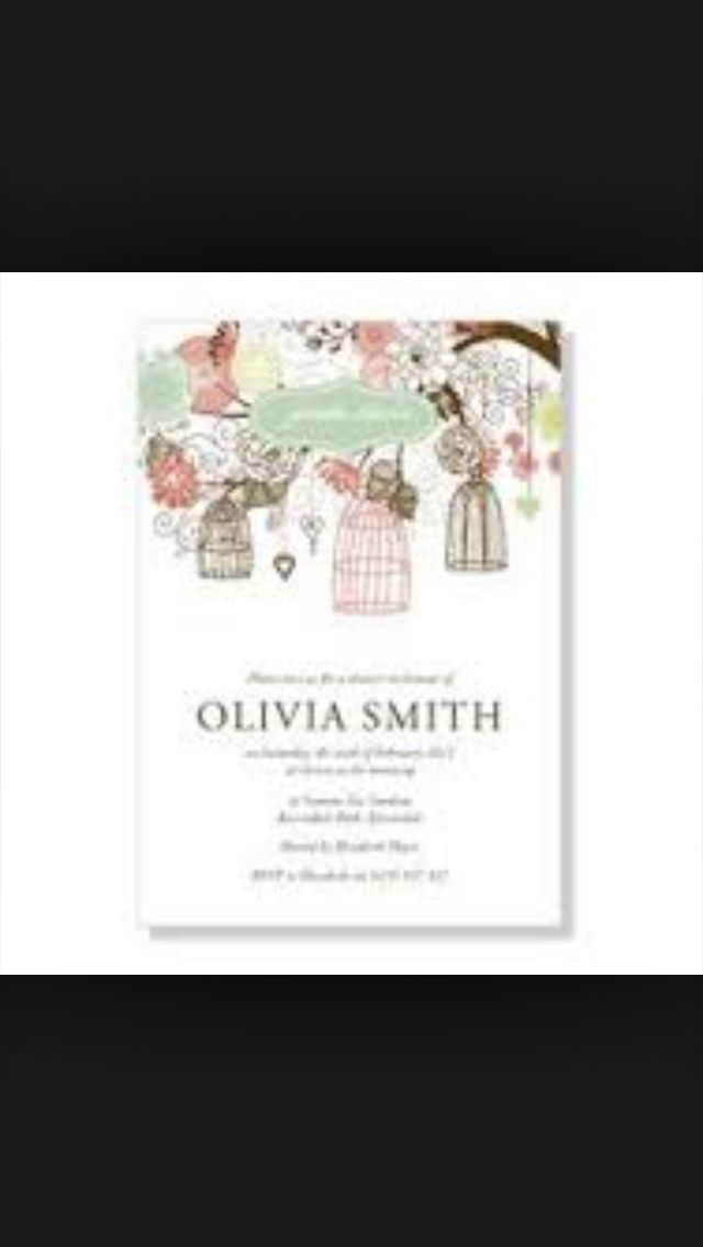 Bridal Parties Bridal Shower Stationery