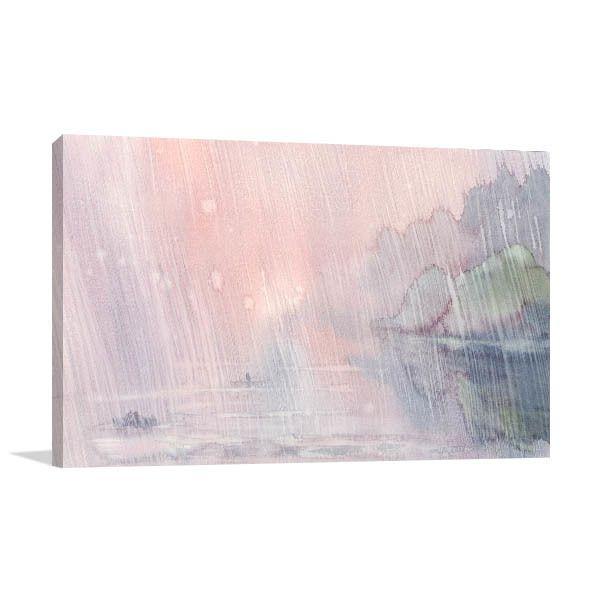 Rainy Morning Wall Art Print As Interior Design For Houses