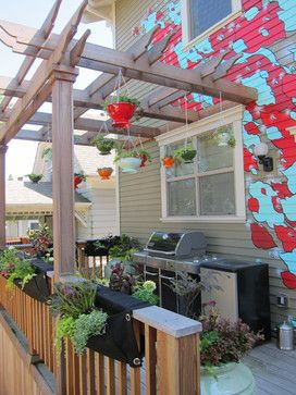 Alberta Neighborhood Art House - eclectic - patio - portland - The City Outside