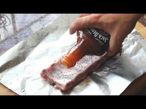 Żeberka w oryginalnym sosie Jack Daniels. - YouTube
