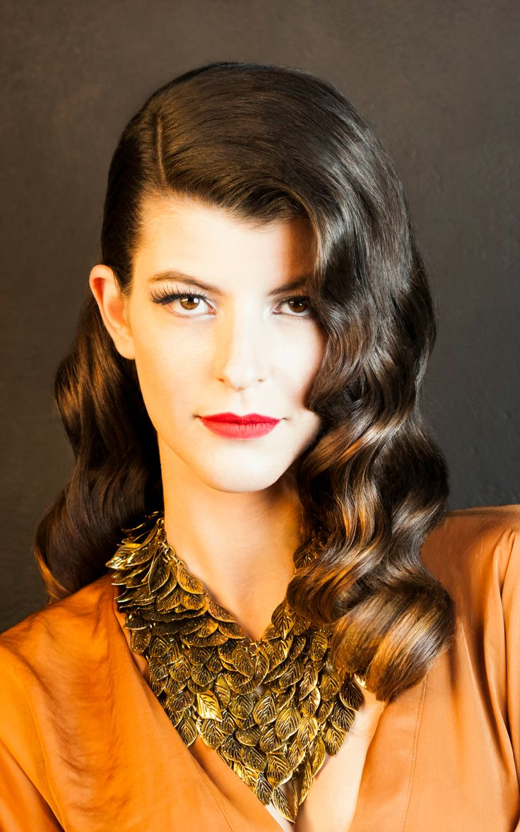 #hair #hairstyle #waves #curly #soft curls #fashion #new #trends #beauty #lovely #romantic #lana #editorial #style #look #2014 #collection #hairdo