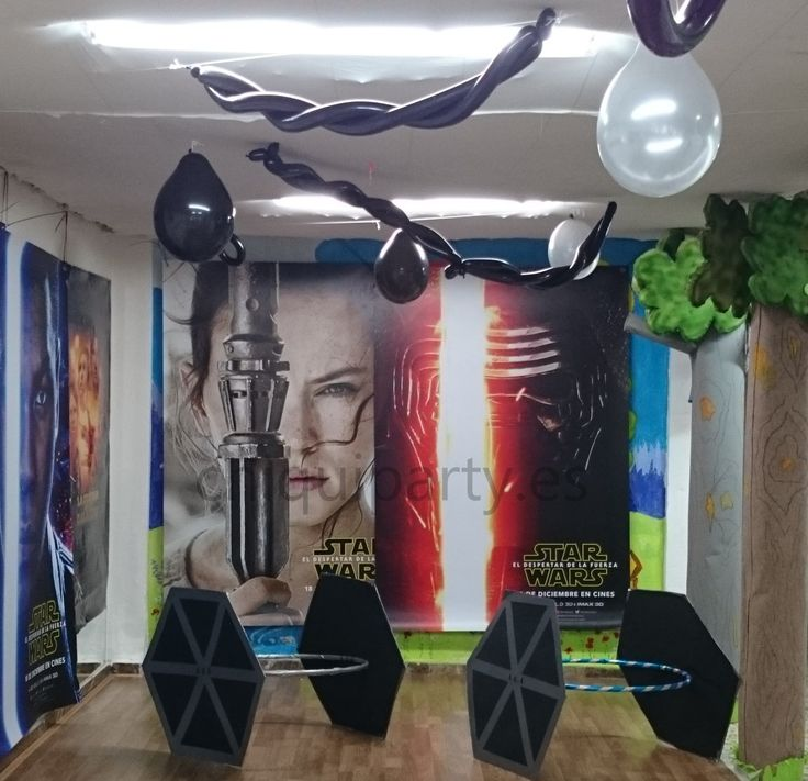 M s de 25 ideas incre bles sobre globos de la guerra de for Decoracion star wars