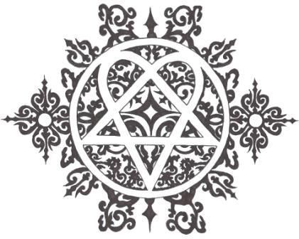 heartagram by ~gothboy6903 on deviantART