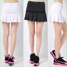 Sport Tennis Gonne A Pieghe A-Gonna Linea con Shorts Traspirante Quick Dry Spedizione Gratuita(China (Mainland))