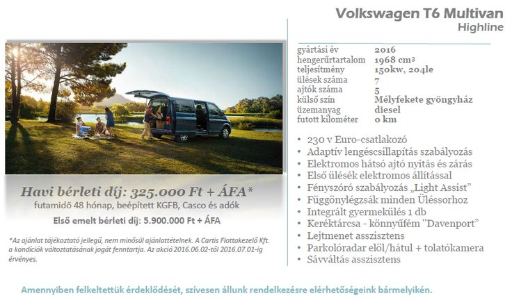 Volkswagen T6 Multivan a Cartistól