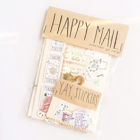 Craft Makes Smile - Happy Mail Pack - A Stationery and Craft Emporium - le petit paperie
