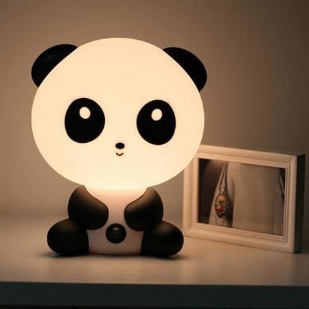 Vente Veilleuse mignonne pour enfant chien, panda ou lapin / Lumière de nuit pour bébé