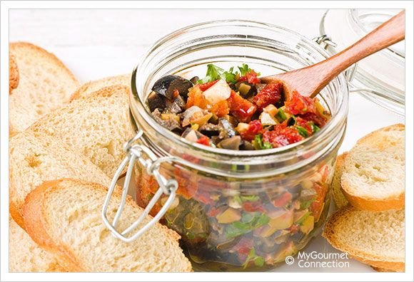 Chunky Mixed Olive Tapenade - from My Gourmet Connection