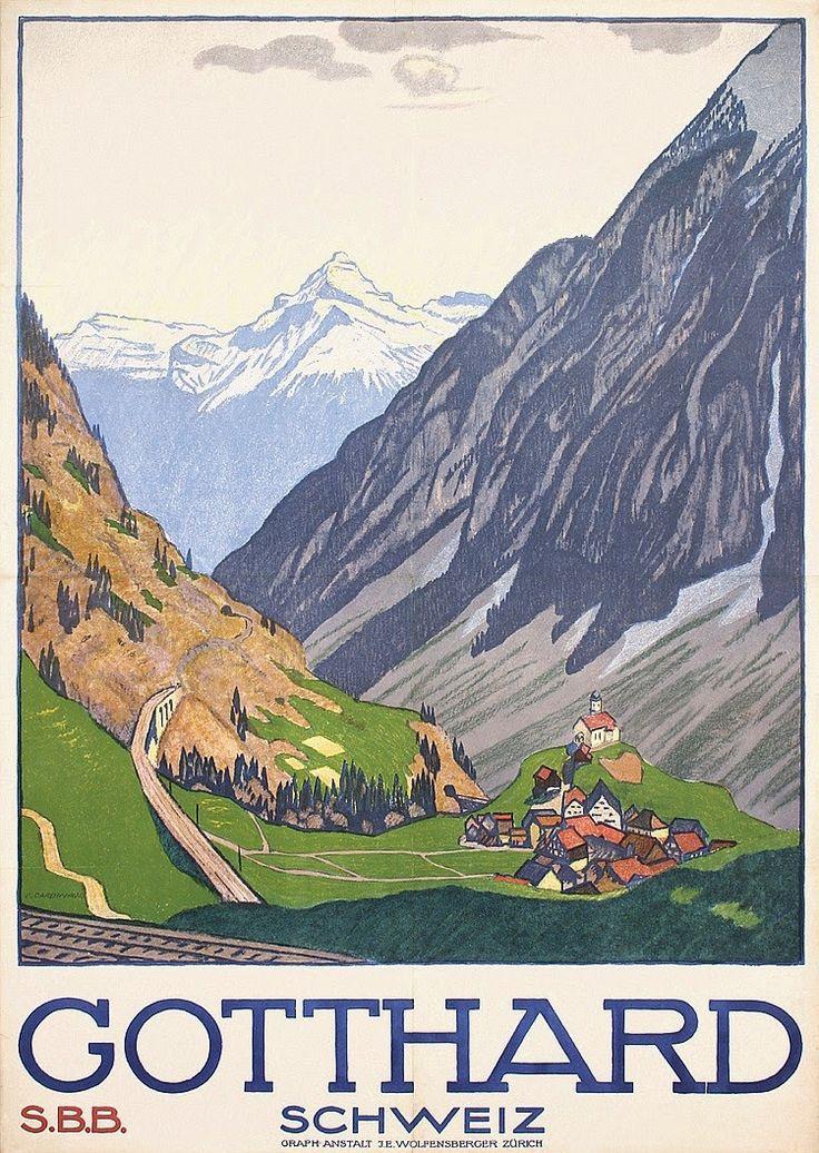 ART & ARTISTS: Vintage Travel Posters - part 1