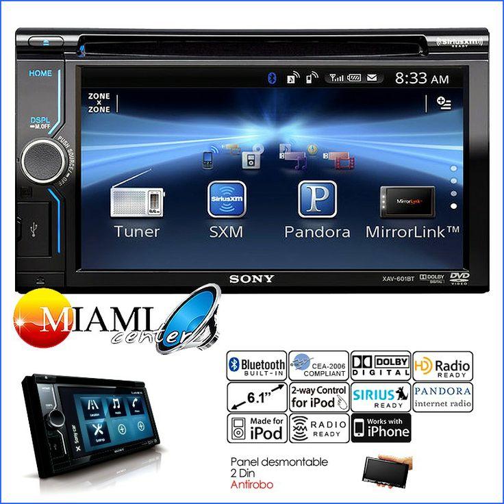Durante el año 2013 la radio Sony XAV 601BT fue una de la más vendidas. Durante este mes destacamos la nueva versión XAV-602BT en #miamicenter    http://bit.ly/Xav602Bt