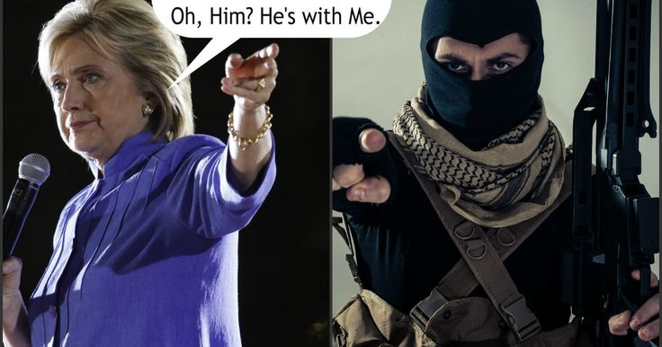 Democrat presidential candidate and federal law breakerHillary Clinton collected six figures in 2013 for a speech she gave in San Diego to the Global Business Travelers Association in which she told the audience that terrorism was not a threat to us as a nation.