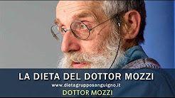 Le 6 regole base della dieta del dottor Mozzi