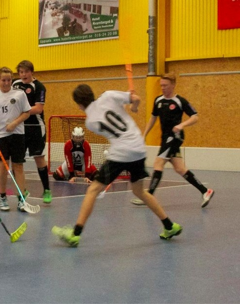Isak making a goal. Hagunda P98, in 2013.