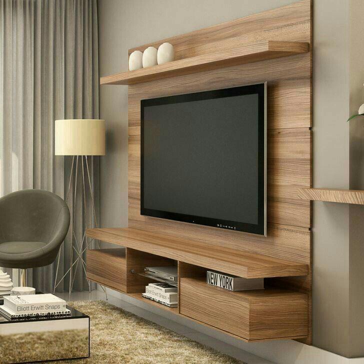 Pin By F V A Fabianna Valeria Artu On Sala Living Room Tv Wall Living Room Tv Wall Tv Unit Design