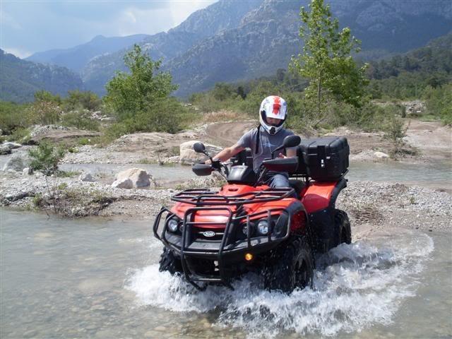 ATV (QUAD) Safari :  Muğla' nın Ortaca, Fethiye ve Marmaris - Türkiye