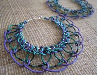Telephone wire jewelry. I remember being thrilled when my dad brought my sister & I a long cord full of telephone wire he got from a telephone man home. We made all kinds of jewelry (mostly bracelets) with it.