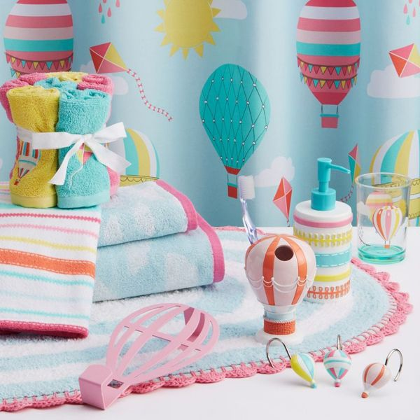 The  Best Kids Bathroom Accessories Ideas On Pinterest - Pink and blue bathroom accessories