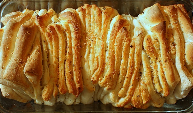 Italian Pull-Apart Bread...this was hit for easter. I also made a ...