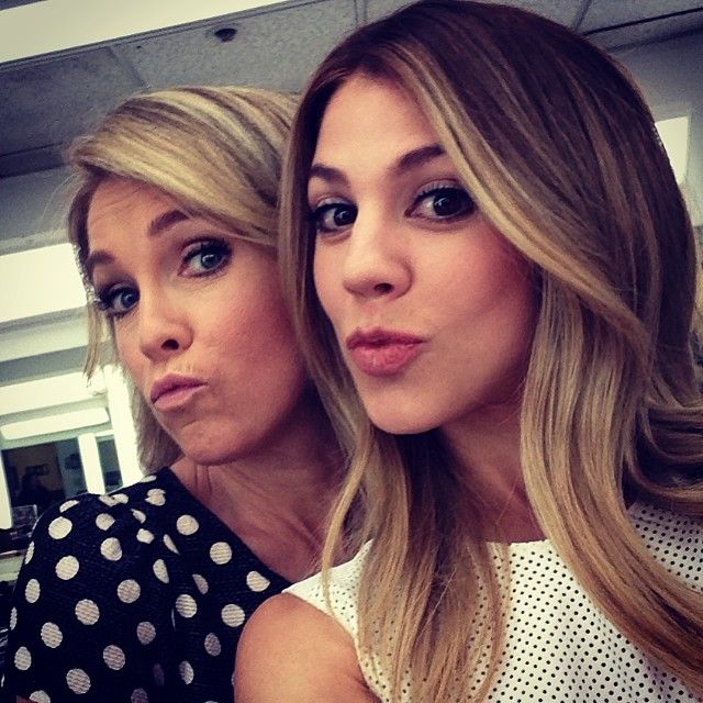 Melissa Reeves and Kate Mansi- Abagail is so beautiful!!