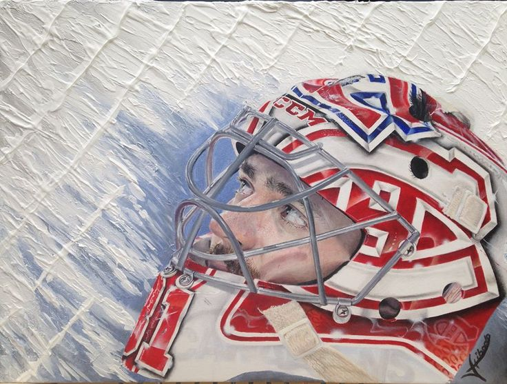 Carey Price. Par / By Veronique Thibodeau #GoHabsGo