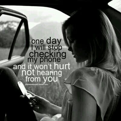 One day I will...it'll be awhile but I know that one day will come...