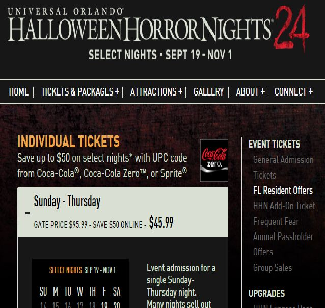 saving with mel halloween horror nights 2017 tickets purchased