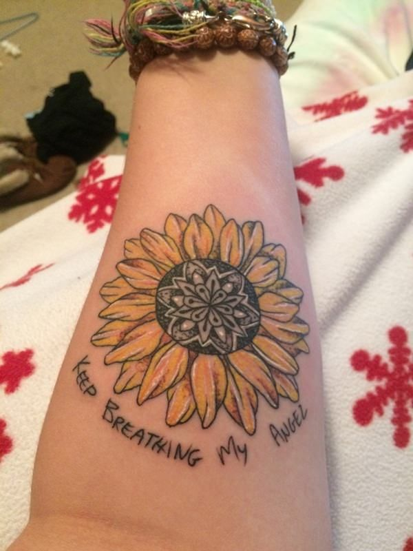 2-sunflower-tattoo-designs