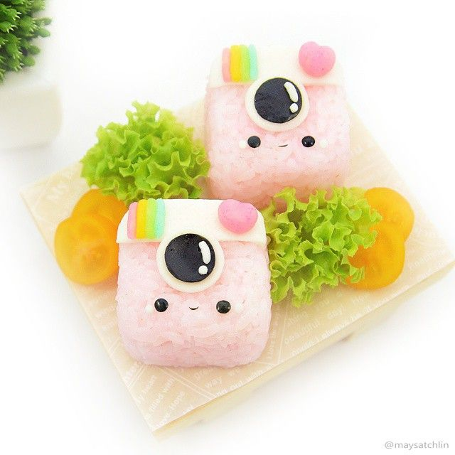 Instagram kawaii cute face bento
