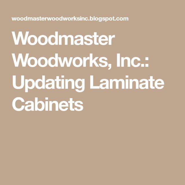 Updating Laminate Bathroom Cabinets