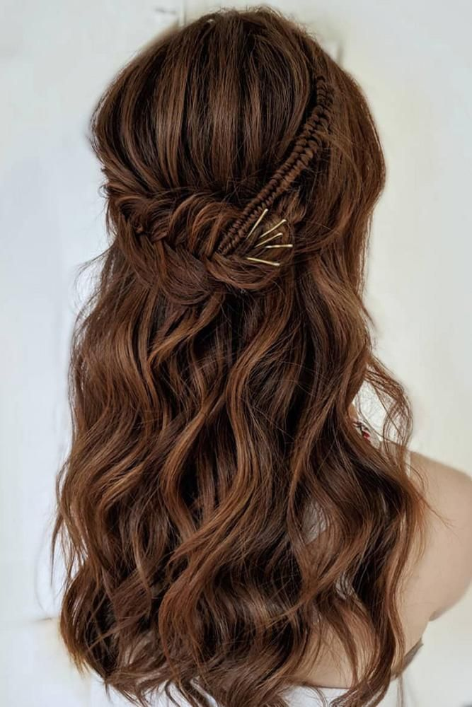 71 Perfect Half Up Half Down Wedding Hairstyles Half Up Wedding Hair Half Up Hair Wedding Hairstyles For Long Hair