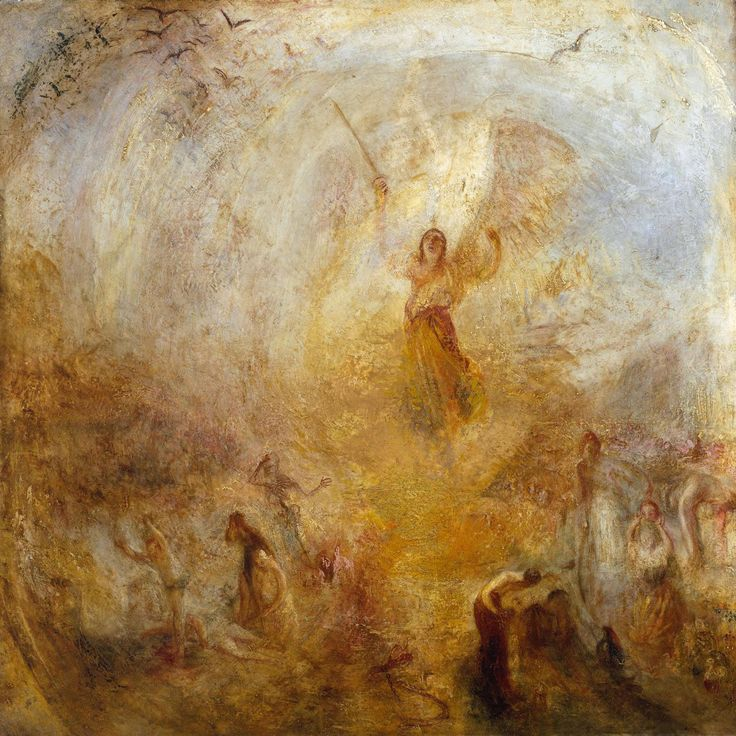 Joseph Mallord William Turner (British, 1775-1851), The Angel Standing in the Sun, Exhibited 1846, Oil on canvas